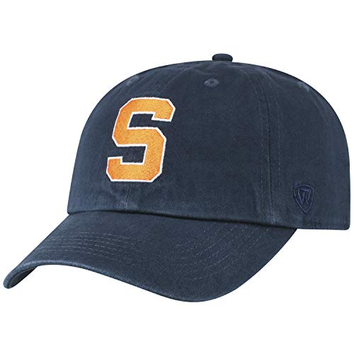 Top of the World NCAA Syracuse Orange Women's Womens Adjustable Relaxed Fit Team Icon Hat, Navy