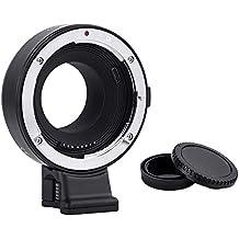 Commlite CM-EF-FX Canon EF obiettivo per Fujifilm adattatore FX, Auto Focus Lens adattatore per Fujifilm x-T100 X-T20 x-T3 X-H1 x-a5 X-T2 x-PRO2 X-T10 x-T1 x-E2 x-M1 x-E1