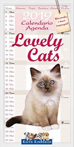 Calendario Agenda 2019 – Cachorros de Gatos – Lovely Cats (22 x 48)