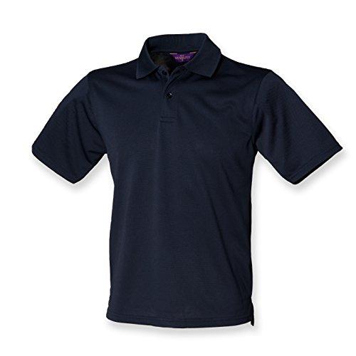 Henbury Coolplus ® Polo-Shirt Navy