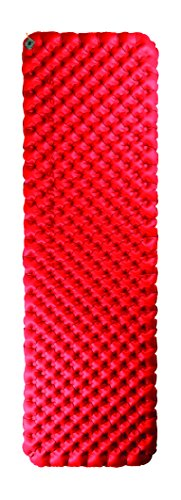 Sea to Summit Comfort Plus Insulated Mat Rec Regular, Farbe Red