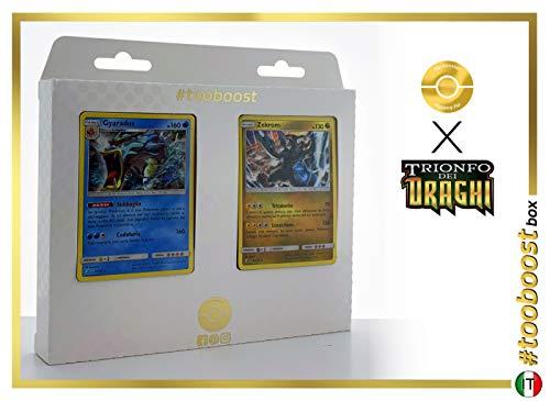0/70 & Zekrom 46/70 - #tooboost X Sol E & Luna 7.5 Trionfo dei Draghi - Box mit 10 Italienische Pokémon-Karten + 1 Pokémon-Goodie ()