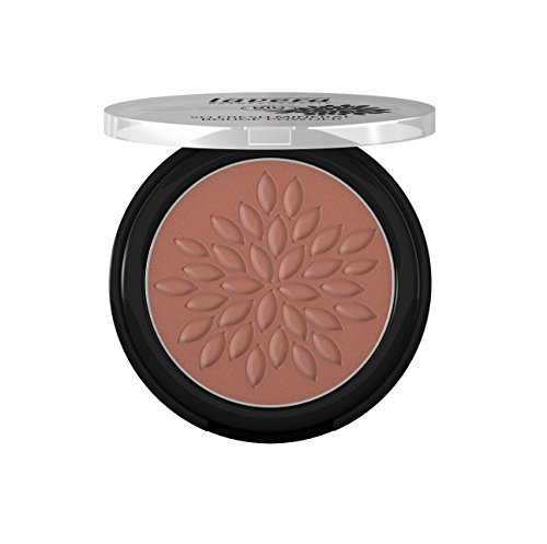 lavera So Fresh Mineral Rouge Powder Puder ∙ Farbe Cashmere Brown braun ∙ sanfter schimmer & seidig zart ∙ Natural & innovative Make up ✔ vegan ✔ Bio Pflanzenwirkstoffe ✔ Naturkosmetik ✔ Teint Kosmetik 1er Pack (1 x 5 g) - Rein Natürliche Mineral-make-up