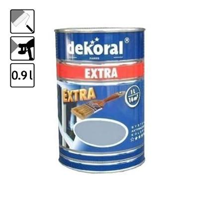 1 Dose Lack Farbe lichtgrau grau 14 m² glänzend Lackfarbe Metall und Holz von DEKORAL bei TapetenShop