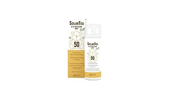 987f2827006 solartea Cream Bio Solar High Protection Baby SPF 50 150 ml - Bema  Amazon. co.uk  Beauty