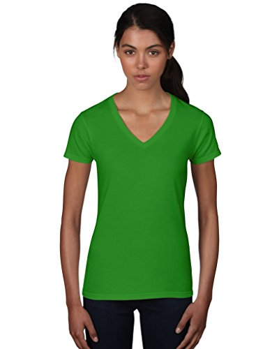 Anvil women ´ s fashion 88 vl basic t-shirt col en v Vert - Green Apple