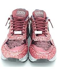 CETTI C848 - GLITTER DEPORTIVA CORDONES