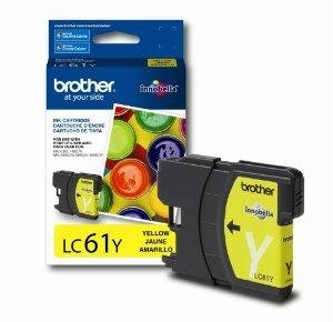 Brother International Brother lc61-y–Tintenpatrone (lc61y) - - Brother Tintenpatronen Lc61