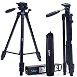 "Best AmazonBasics Lightweight Tripods - Albott Camera Tripod 64"" 163cm Aluminum Lightweight Travel Review"