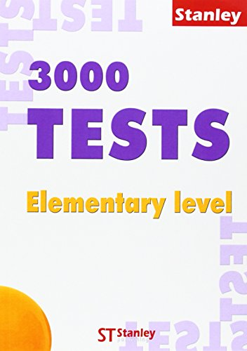 3000 Tests Elementary + Key pack Ingles