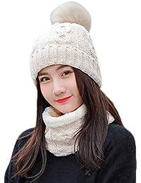 Juego de 2 bufandas y sombreros para adultos 91658d555c6
