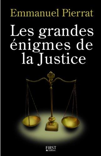 GDES ENIGMES DE LA JUSTICE