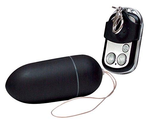 Black & Silky - Vibro Ei mit Fernsteuerung