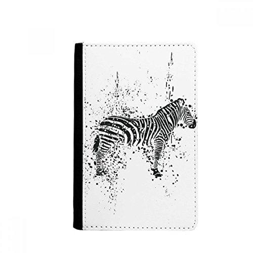 beatChong Mexikanische Zebra Einfache Schwarzweiss-Pass-Halter Travel Wallet Abdeckungs-Fall Karten-Geldbeutel