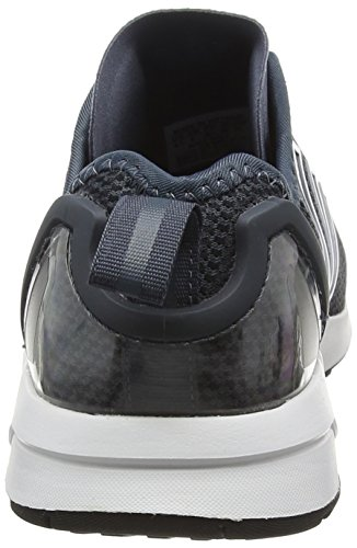 adidas Unisex-Erwachsene ZX Flux ADV Laufschuhe Blau (Bold Onix/Bold Onix/Core Black)