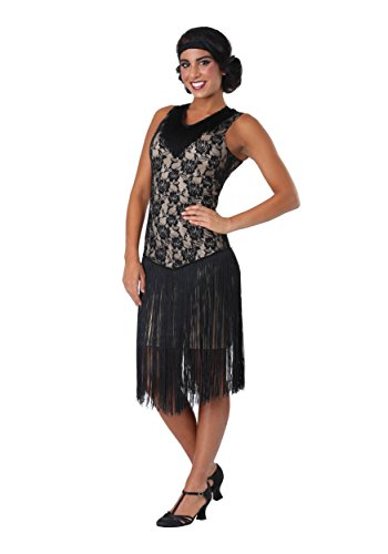 Frauen Speakeasy Flapper Plus Size Kostüm - ()