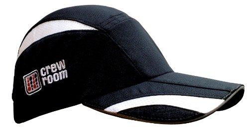 Crewroom VX microleichte/ultraleichte (kleine) Kappe - schwarz/weiß, Einheitsgröße