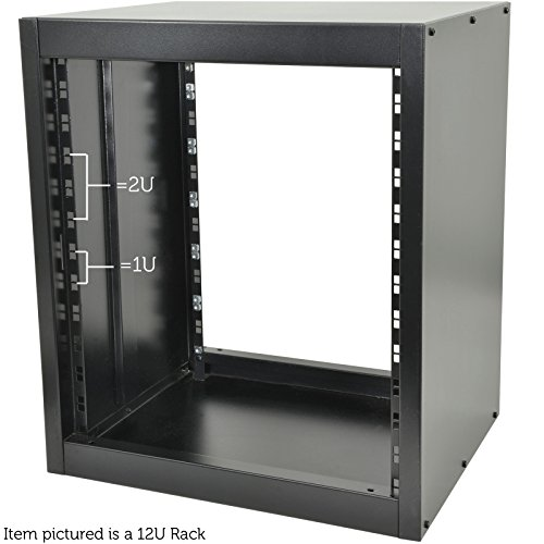 48,3 cm (19 Zoll) 35U Full Equipment Rack - 568 mm Patch Panel Mount Case-PA DJ Mixer Amp Stand