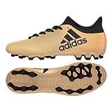 adidas Herren X 17.3 AG Fußballschuhe, Gold/schwarz/rot, 42 EU