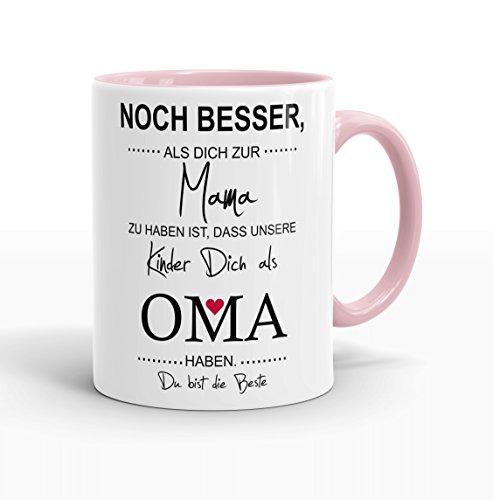 Klebemonster24 Rosa Voll M Noch Besser als Dich zur Mama zu haben ist, DASS Meine Kinder Dich als...