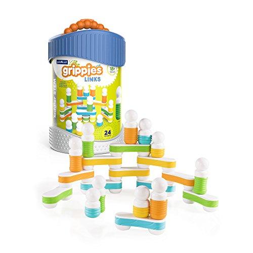 Preisvergleich Produktbild Guidecraft–g8318–Grippies links–Spiel-Bau–24-teilig–Mehrfarbig