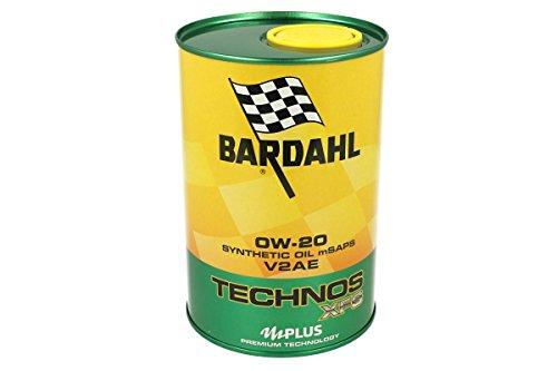 BARDAHL TECHNOS XFS V2AE 0W20 Olio Motore Lubrificanti Auto 1 LT