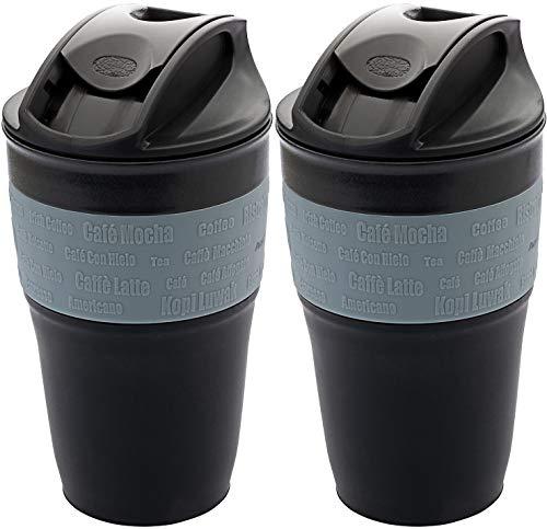 BPA-frei & lebensmittelecht Picknick & Cam pandoo Bambus Trinkbecher 6er-Set