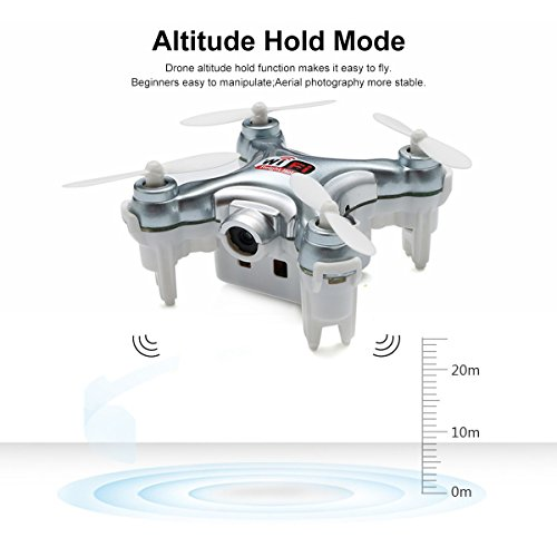 REALACC-Cheerson-CX-10WD-TX-Mini-Wifi-FPV-Cuadricptero-Con-Cmara-High-Hold-Mode-24G-6-axis-RC-Nano-Teledirigido-Quadcopter-RTF