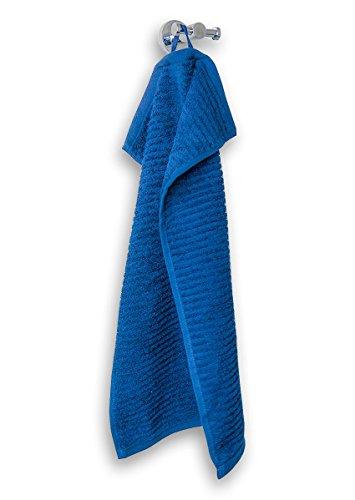 Vegas uni serie in 100% spugna puro cotone walk con misure e colori assortiti, cotone, 545 ozean, asciugamano mani