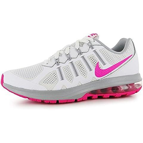 Nike Air Max Dynasty Zapatillas de entrenamiento para mujer blanco/rosa Fitness zapatillas zapatillas, blanco y rosa, (UK4) (EU37.5) (US6.5)