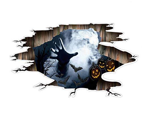 FangfangGAO Wallpaper Halloween Theme 3D Wandaufkleber, Klaue abnehmbare Aufkleber 43cm * 88,5 cm