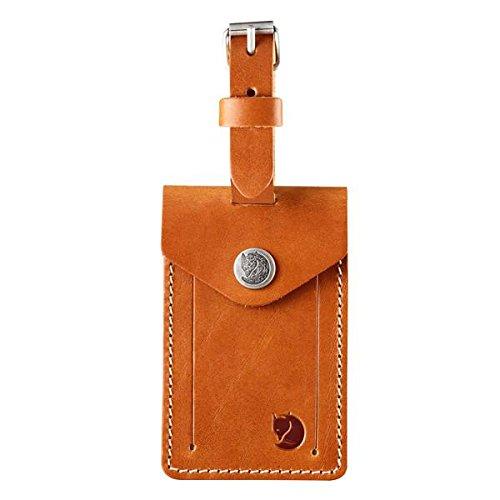 FJÄLLRÄVEN Gepäckanhänger, Leather Cognac, 15 cm - Cognac-reise-brieftaschen