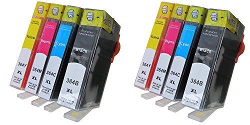 ESMOnline 8 komp XL Druckerpatronen Ersatz für HP Deskjet 3070 3520 HP Officejet 4610 4620 4622 HP 5510 5512 5514 5515 5520 5524 6510 6520 7510 7520