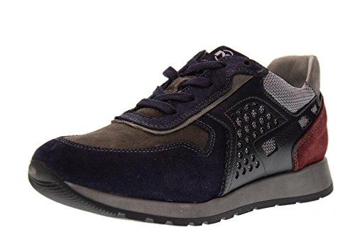 NERO GIARDINI chaussures junior espadrilles A734331M / 200 BLEU (35/39)