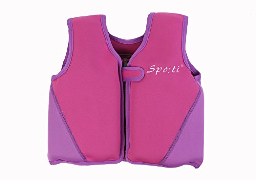 Genwiss bambino vita Swim giacca 18mesi-7anni viola, Purple, L