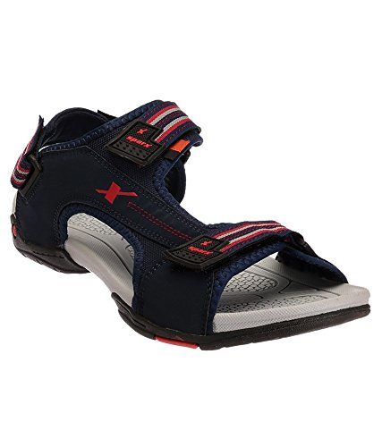 SPARX MEN BLUE SPORTS SANDAL 441 (7)  available at amazon for Rs.1044