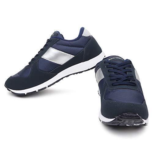 befc7bed04baf BATA Foot Thrill Men Navy Sports Shoes