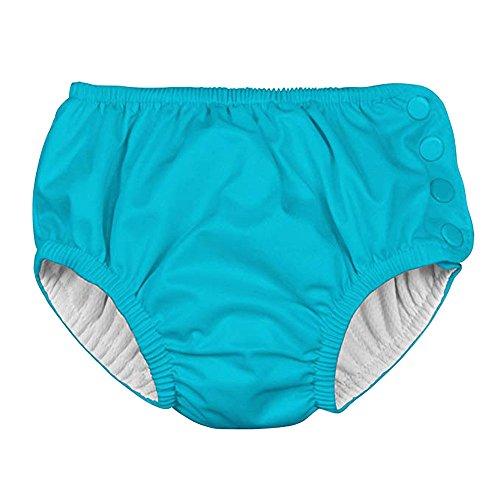 Herren Badehose Slip Bikini Bottom für Sommer Schwimmen Baby & Kleinkind Mädchen Mädchen Solid Snap Wiederverwendbare saugfähige Schwimmwindeln WindelWassersport Schwimmen Trunks Baby Snap T-shirt