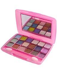 Pink La Femme 18 Colour Powder Shimmer Eyeshadow Palette