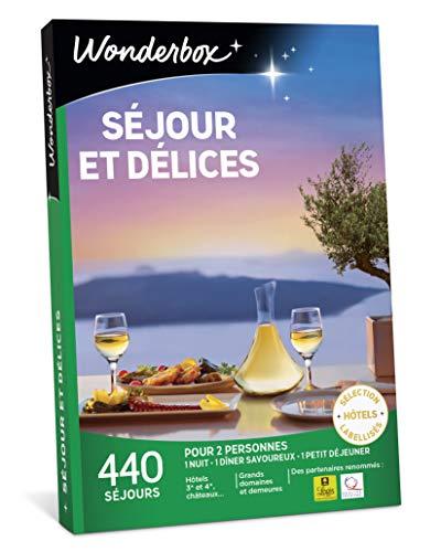 Wonderbox - Coffret cadeau pour Noël - SEJOURS ET DELICES - 440 séjours en hôtels,...