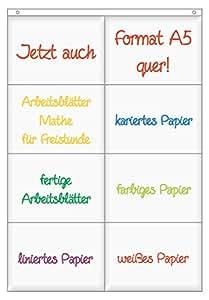 TimeTex Hänge-Orga-Taschen A5 - 8 Einstecktaschen - jeweils 2 ...