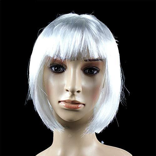 LNNA Party Ball Perücke Haar Set Student BOBO Haar Nicht-Mainstream-Wellen-Kopf-Schönheits-Perücken Dekorative Formen (Farbe : ()