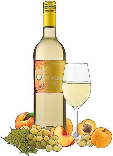Ralf Köth Federino weiß - bitzelnder Wein 0,75l (1)