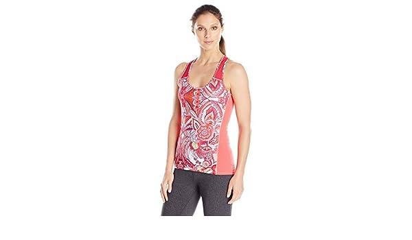 Desigual Womens Sport Sleeve Less Tank Printed Paisley