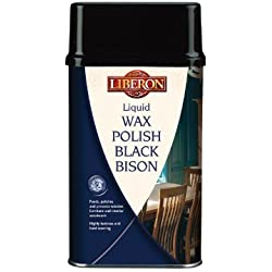 BBLWGM500 Liberon-Cera liquida Black Bison, 500 ml, mogano georgiano