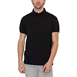 Indian Terrain Mens Solid Regular Fit T-Shirt (ITMTS00053-8907633931614_Black_L)