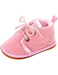 Zapatos de bebé Auxma Zapatos de bebé, Bebé niño infantil nieve Botas zapatos suela de goma cuna Prewalker