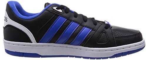 adidas Hoops Team, basket homme Noir - Schwarz (Black/Blue/White)
