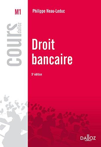 Droit bancaire - 5e éd.