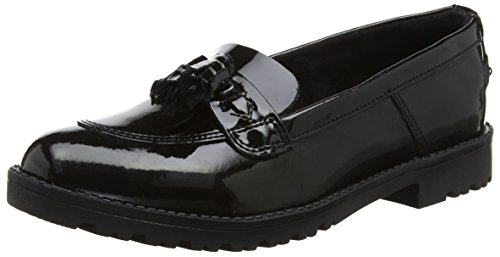 Kickers Women's Lachly Tass Loafers, Black (Black)